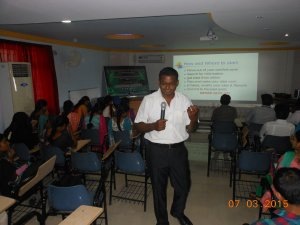 Presentaion given at Sethu Institute of Technology Madurai on title 'Need for Entrepreneurship'