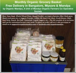 Organic Mandya – assistance to organic farmers
