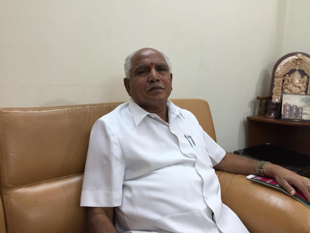 Shri B. S. Yeddyurappa- agriculture-interview