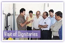 Visit of dignitaries