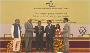 Kishan Suman felicitated for his agri innovation - Sadabahar Mango