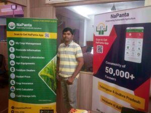 NaPanta – an app providing up-to-date information on farm production and market information for free
