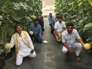 "Mr. Khemaram Choudhary, a farmer in the Jaipur District of Rajasthan, turns his village into ""mini Israel"""