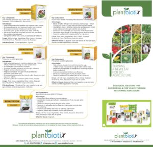 PlantbiotiX – introduces bio-formulation to promote plant growth and increase productivity