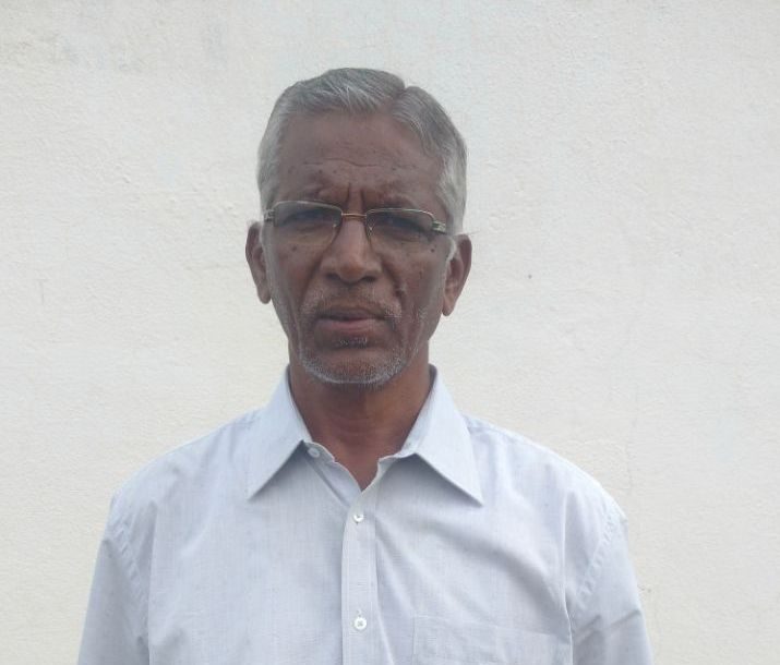 C  Ganesan – runs dairy farm for preserving and promoting