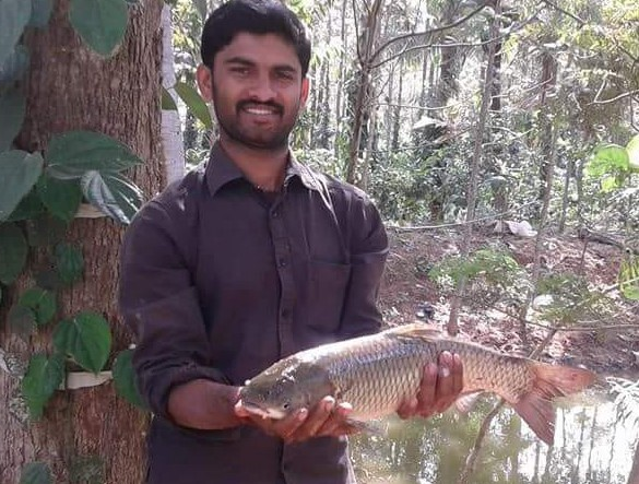 C. M. Naveen Kumar – progressive farmer, Karnataka