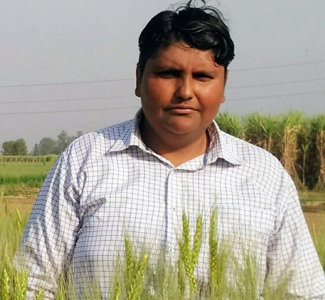 Nitin Kumar Kajla – progressive farmer Meerut, Uttar Pradesh.