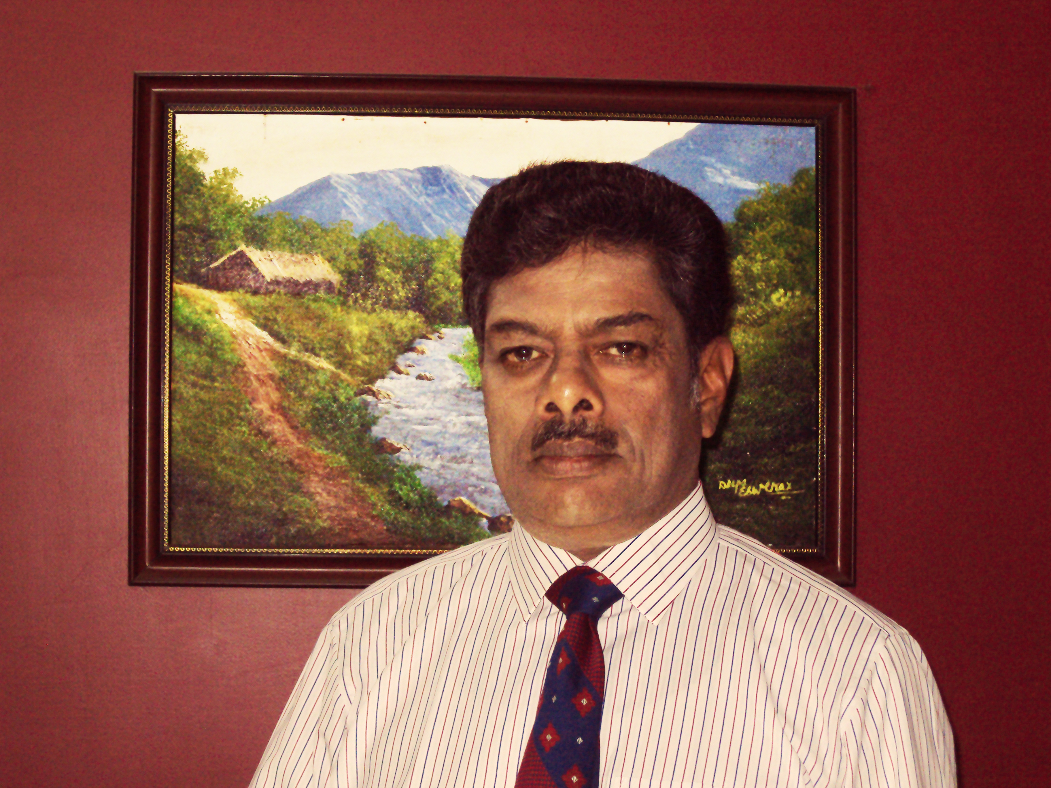 Mr. R.G. Sudarshan Ritty – banker turned greenhouse consultant