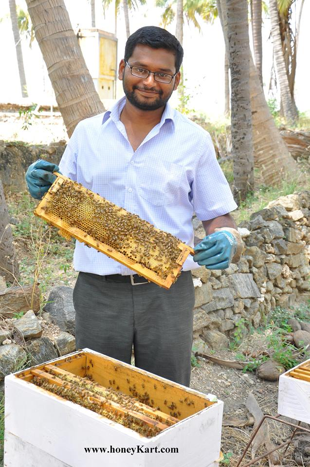 Honey Kart – quits Wipro to become a beekeeper!