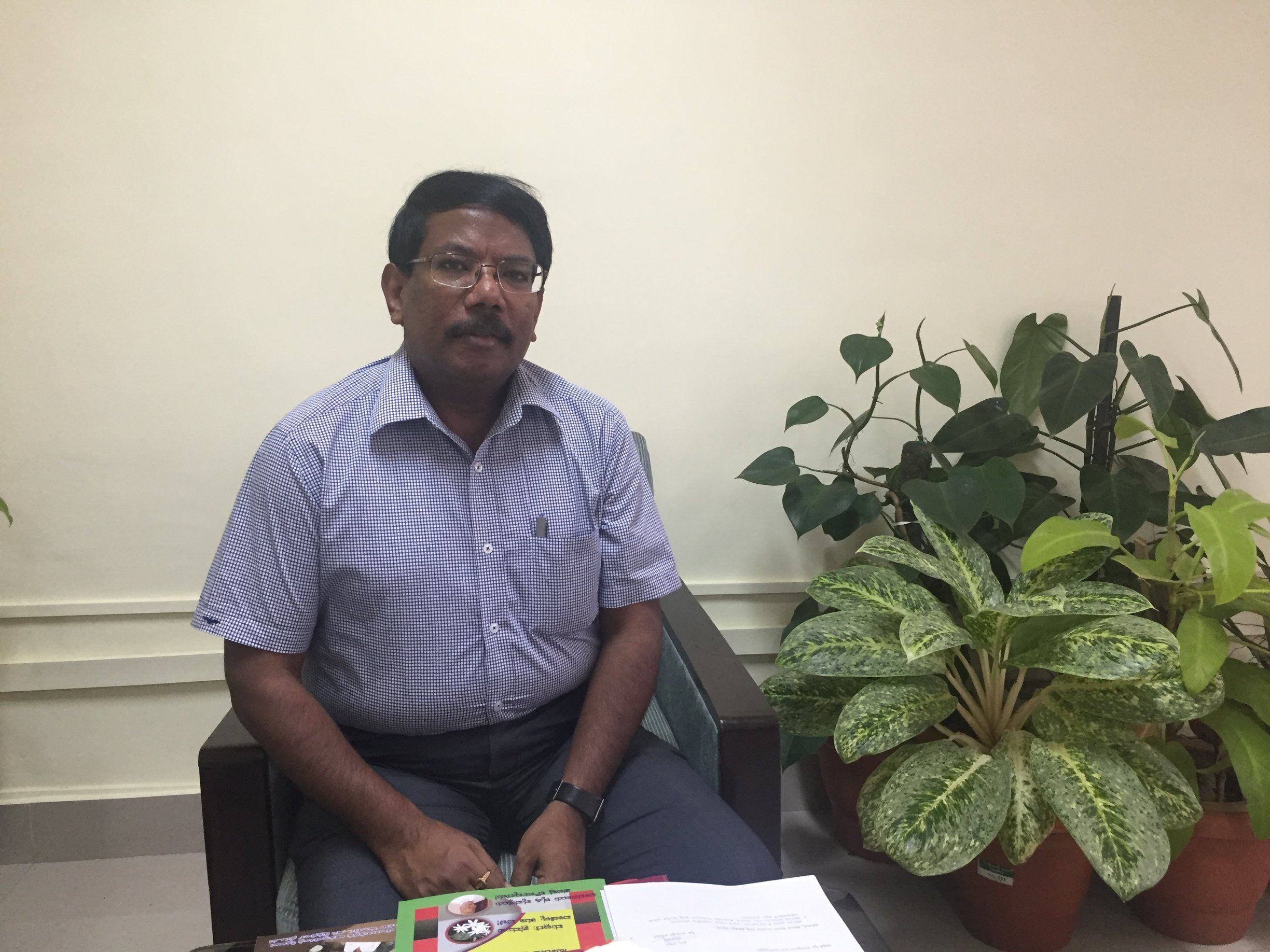 Interview with Mr. N. Manjunatha Prasad, Secretary to Government, Agriculture Department, Government of Karnataka.