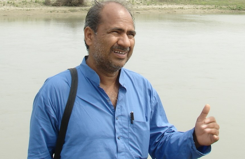 Laxman Singh – makes his Laporiya village water rich by building proficient water systems in cooperation with villagers
