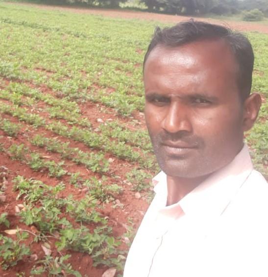 Manjunath T. H – progressive farmer from Karnataka