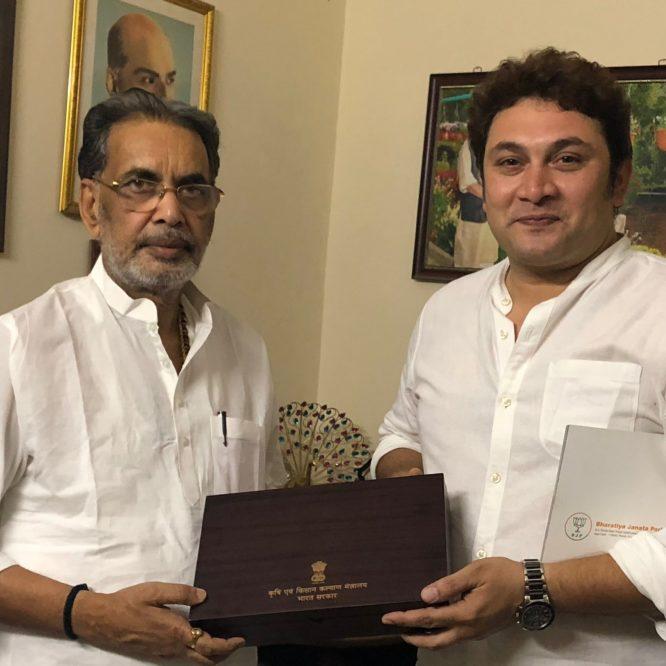 Rajesh Kumar – television actor turns farmer