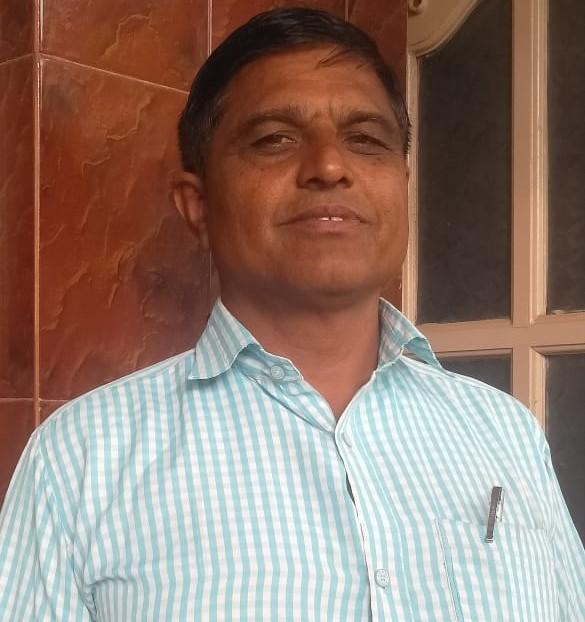 H. K Raghu – promotes brown top millet