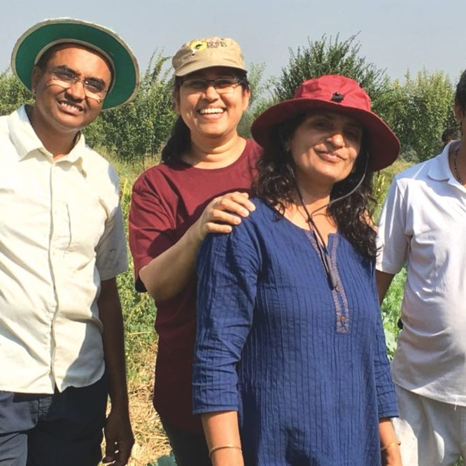 Three friends become farmers for life !