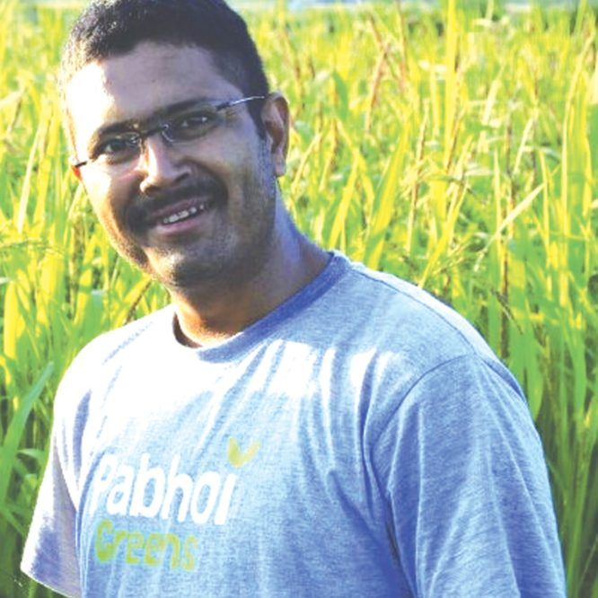 Neelam Dutta – self-funded research experiments to develop organic vegetable seeds