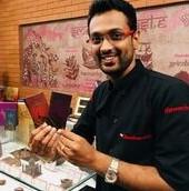 Arun Vishwanathan -TNAU & Cornell educated  chocolate entrepreneur  from Coimbatore