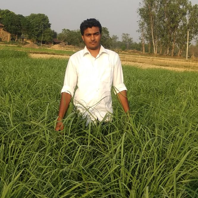 Chandan Singh Patel – UP farmer takes up aromatic oils and pearls