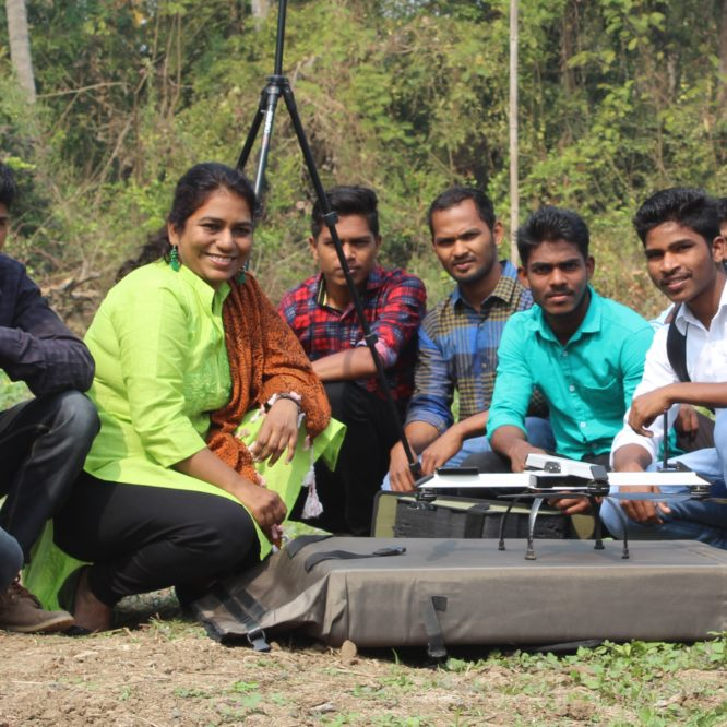 Dr Ruchi Saxena-founder of Caerobotics Consultancy, leading India Flying Labs