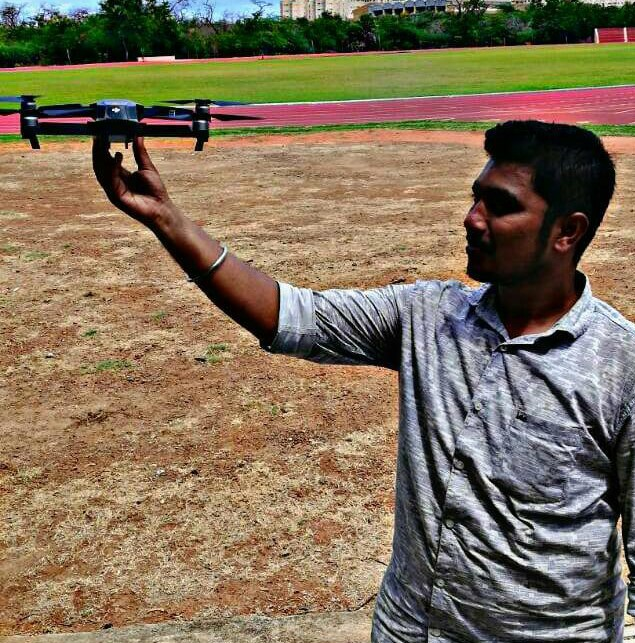 Mr. Paridhi Raj-  Drone start up company in Chennai