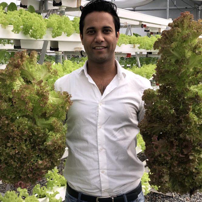 Shivendra Singh – IIM graduate turned hydroponics expert